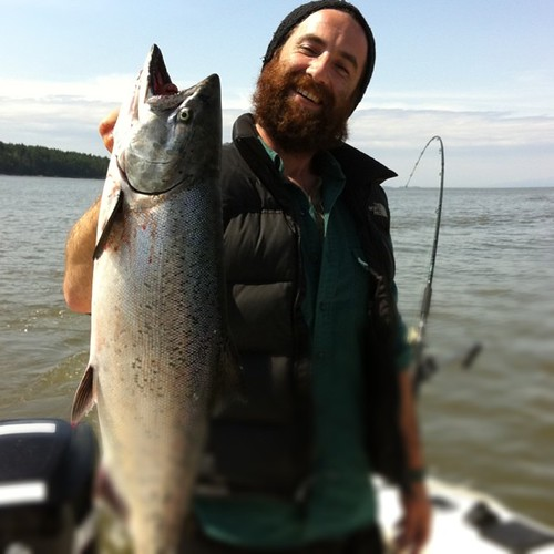 Kris Krug Fish Killer - Galiano Island Salmon Fishing | by Kris Krug