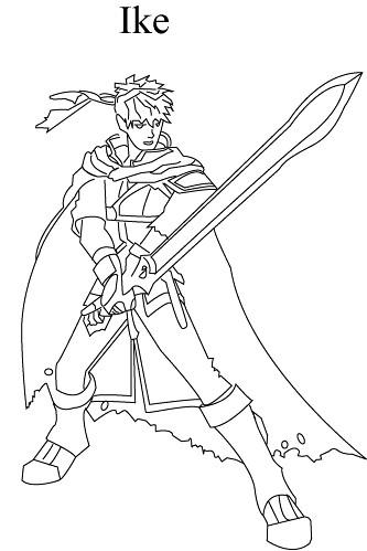 ike | Ike From Super Smash Bros Brawl | DrawingSkillz | Flickr