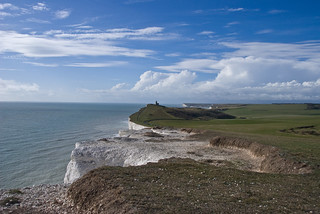 Seven Sisters Cliffs on southern coast | by denovich