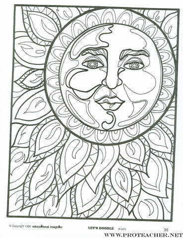Let S Doodle Printable Coloring Pages