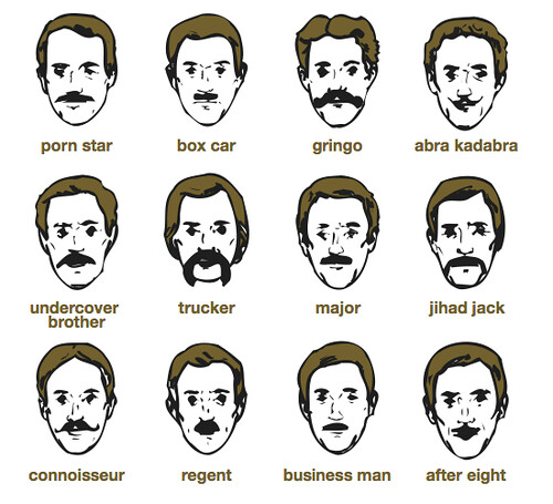 Movember Hair Styles Vector - Download Free Vector Art, Stock ...