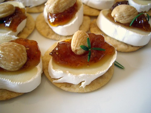 Little Brie Fig Bites | by swampkitty