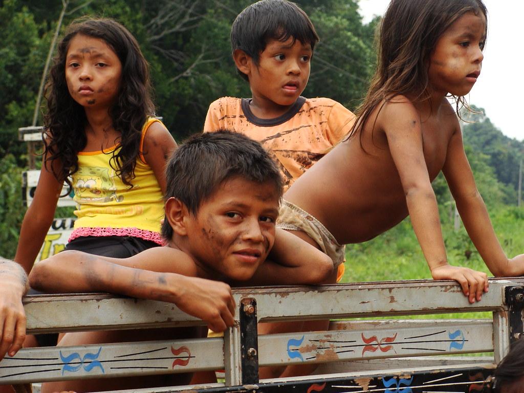 tribe kids ... Rainforest tribe kids | by Ben Sutherland