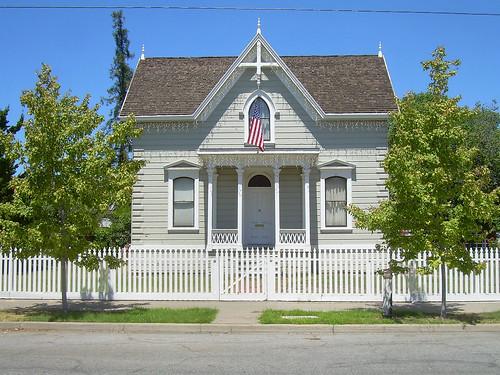 Victorian house santa clara california built 1875 for Clara house