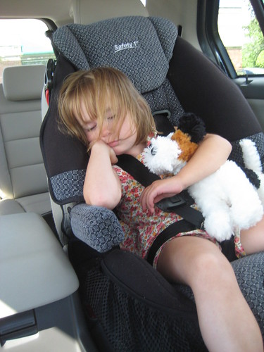 Sleepy Girl in a Ford Taurus X | by QueenofSpainErin