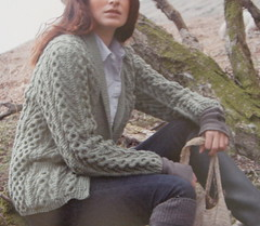 Tree of Life Aran Jacket | by AgnesBerthelot
