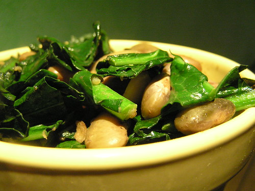 White Beans and Kale | by Laurel Fan