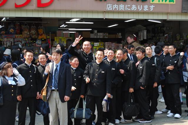 Schoolboys of Japan