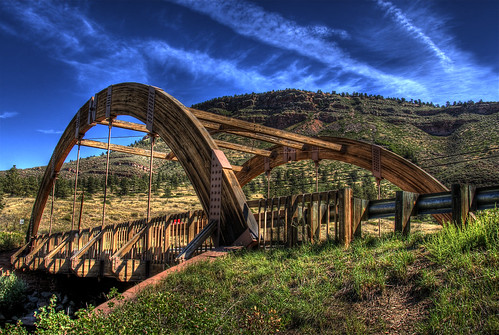 Apple Valley Road Bridge, Lyons, Colorado | by Thad Roan - Bridgepix