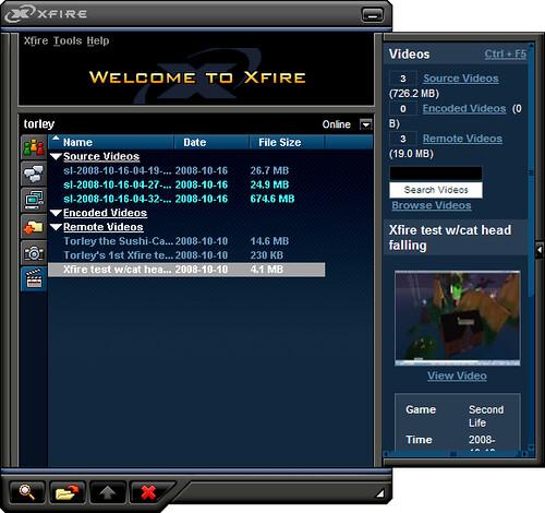 xfire video