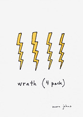 wrath (4 pack) | by Marc Johns