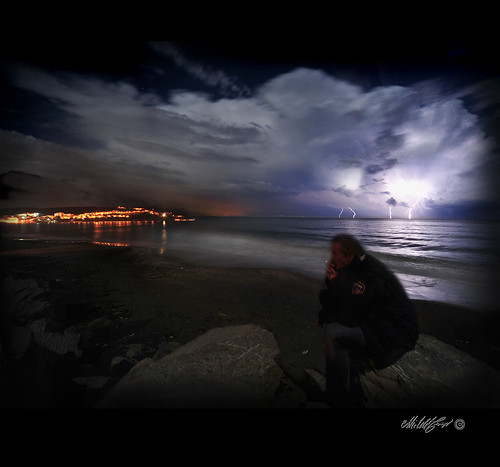 Colpi di fulmine- Strokes of lightning | by - Gigapix -