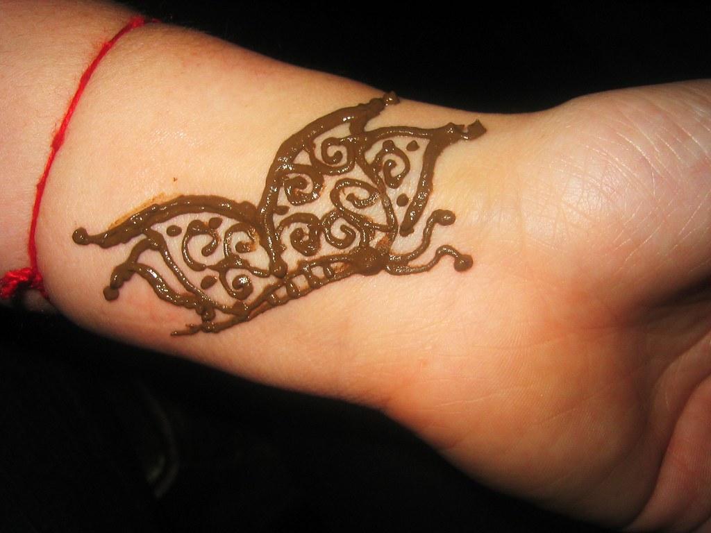 Henna Butterfly Original Design By Indu Zari Henna Follow On