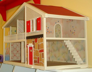 Thrifted Dollhouse-Detail | by coreymoortgat