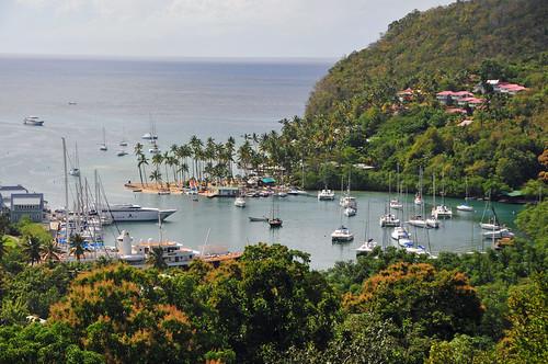 Tropical Island Getaways: © Jeff R. Clow Marigot Bay On