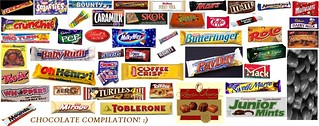 Chocolate bar compilation | by captcreate