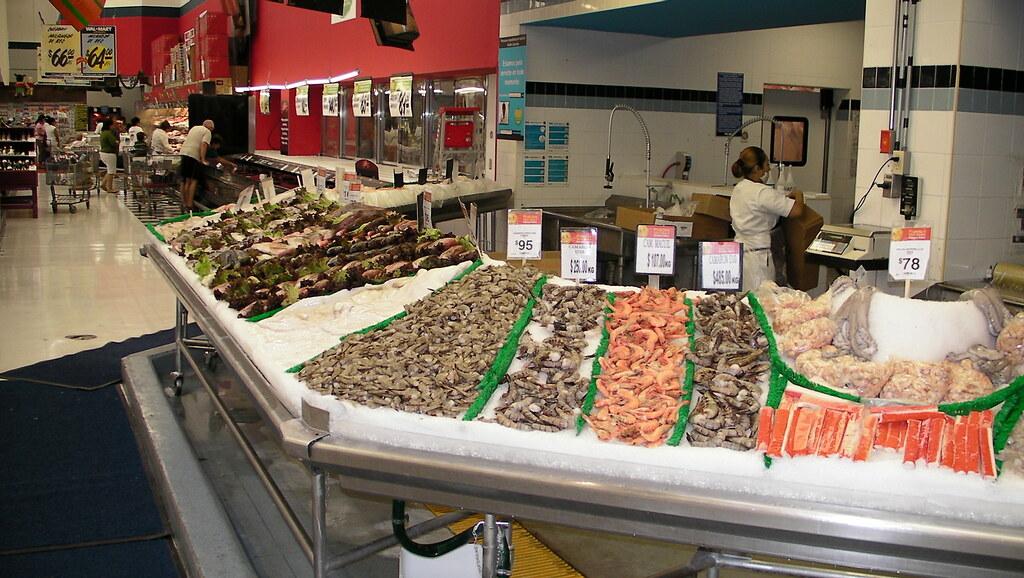 Fresh seafood at Cancun Walmart   Scott Maentz   Flickr