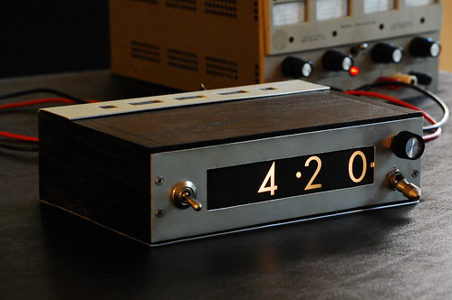 IEE Clock - Front Panel | by eschlaep