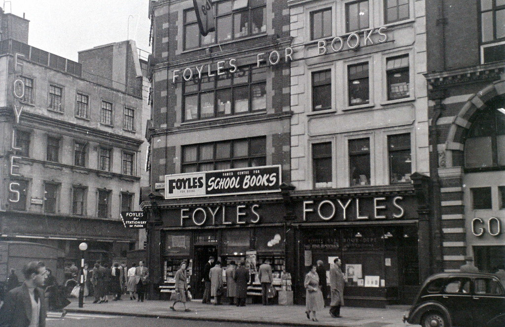Image result for foyles bookshop charing cross road