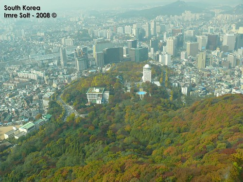 how to get to namsan tower cable car
