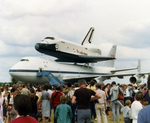 space shuttle landing at stansted - photo #25