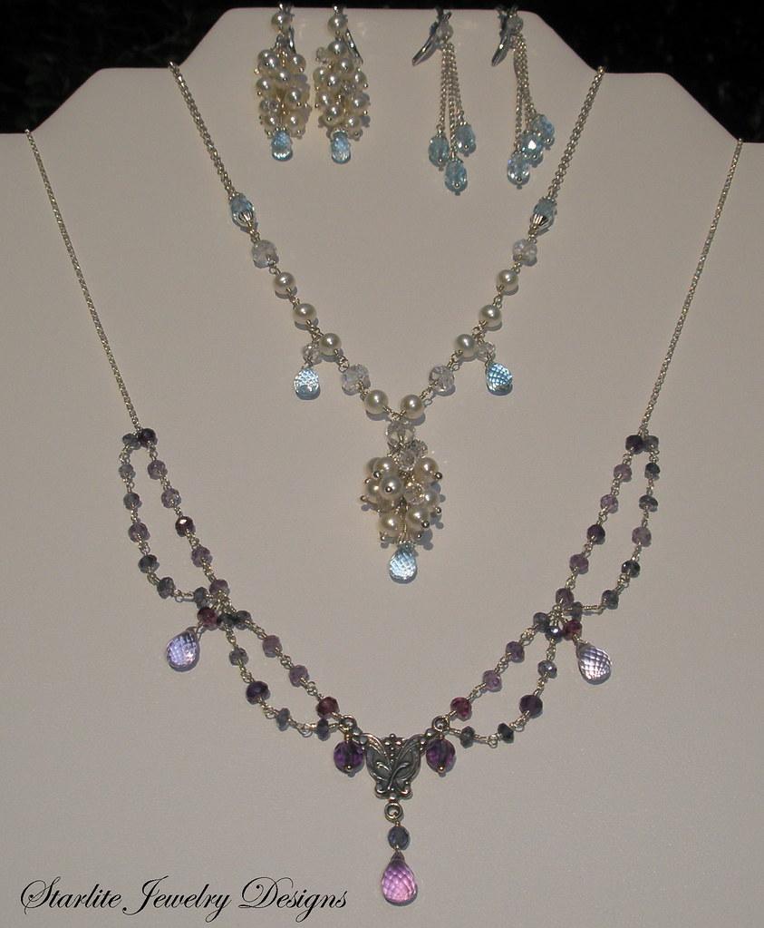 Starlite Jewelry Designs Briolette Jewelry Design Fash Flickr