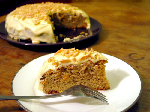 Apple Cake Frosting On Top