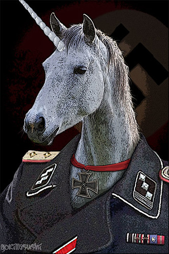 Nazi Unicorn | by GorillaSushi