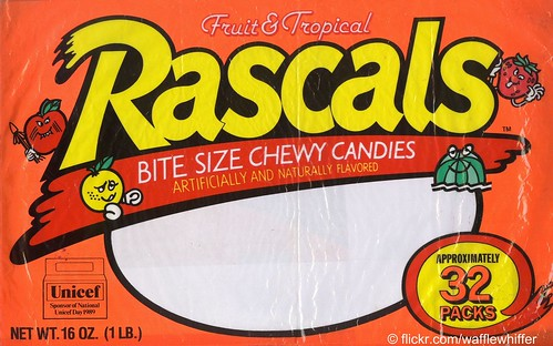 Rascals Candies - 1989 | by Waffle Whiffer