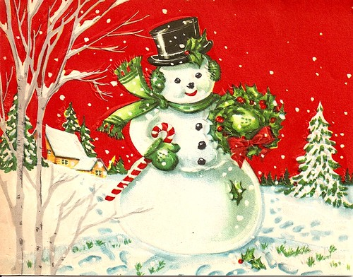 Vintage Christmas Card | by Katie Kitsch