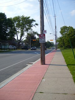 New Royal York Bikelanes at Coney Road | by BikingToronto
