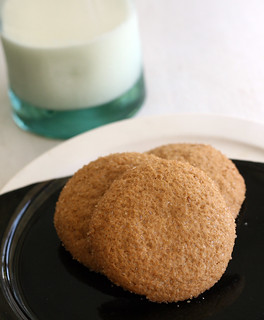 ginger snaps | by rachel is coconut&lime