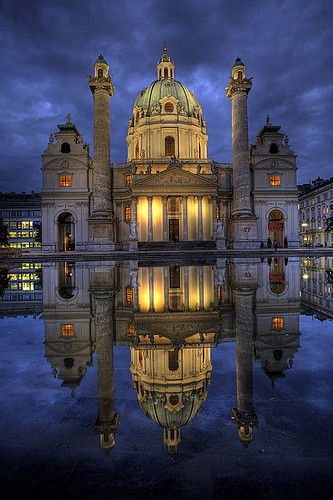 Karlskirche, Catholic Church, Vienna, Austria | by pedro lastra