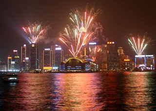 Hong Kong Fireworks | by Paul Cowell