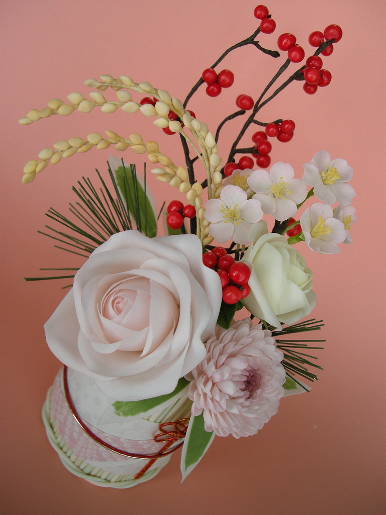 Japanese Flower Arrangement Akina Flickr