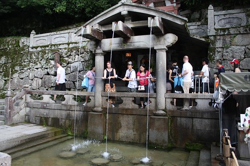 kiyomizu-dera waterfall | by Doctor Memory
