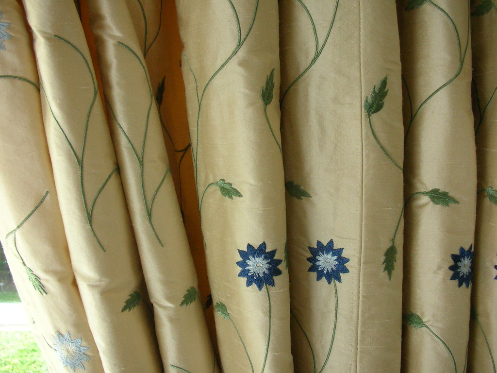 Bedroom Curtain Fabric | Louise Brown | Flickr