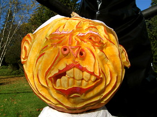 Scary Pumpkin, McCain | by BillyHutch