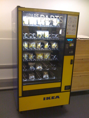 IKEA spare parts vending machine | by sillygwailo