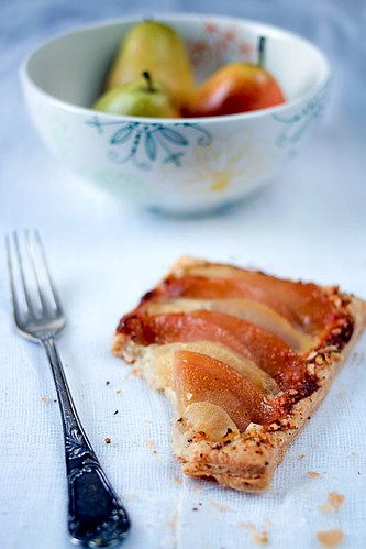 Poached Pear And Quince Tartelettes | by tartelette