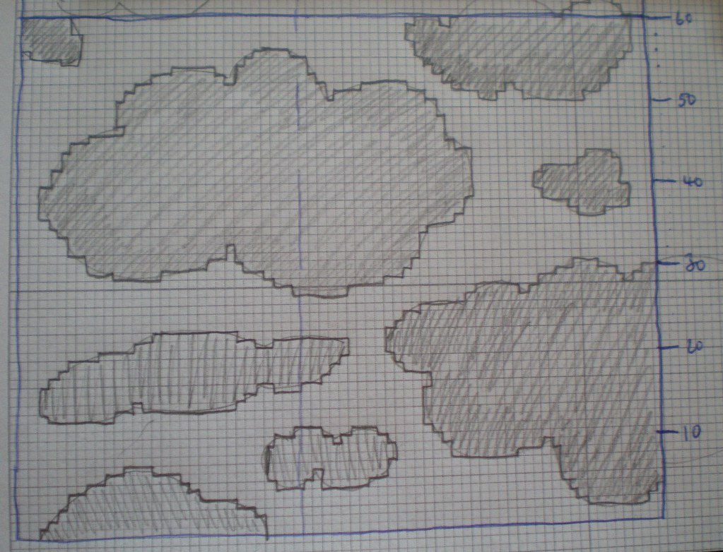 Knitting Chart Alphabet: Cloud knitting chart | Littlelixie | Flickr,Chart