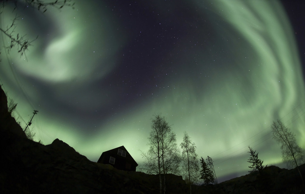 ... Northern Lights Of Yellowknife | By Davebrosha