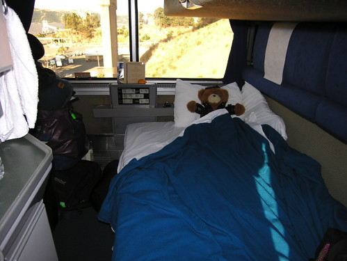 Lower Bunk Amtrak Deluxe Room Location California On The