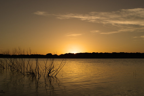 SUNSET AT HORDS CREEK LAKE IN TEXAS | by Moments Captured In Time