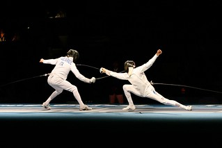 Olympic Fencing | by Robert Scales