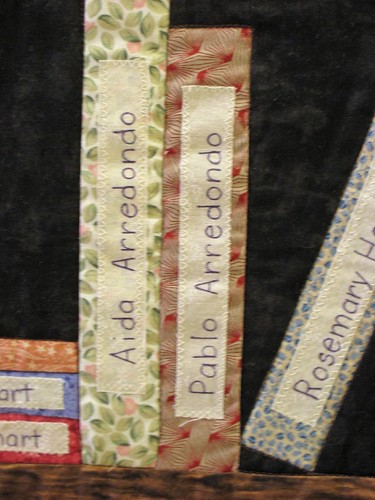Library Quilt Detail When I Tried To Show This Quilt To