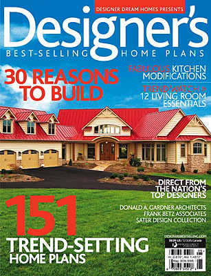 Designer\'s Best-Selling Home Plans Magazine Cover | Editoria… | Flickr