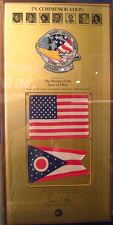 Judith Resnik's Flag And Patch Recovered From Space Shuttle Challenger Disaster | by Sheehan Family
