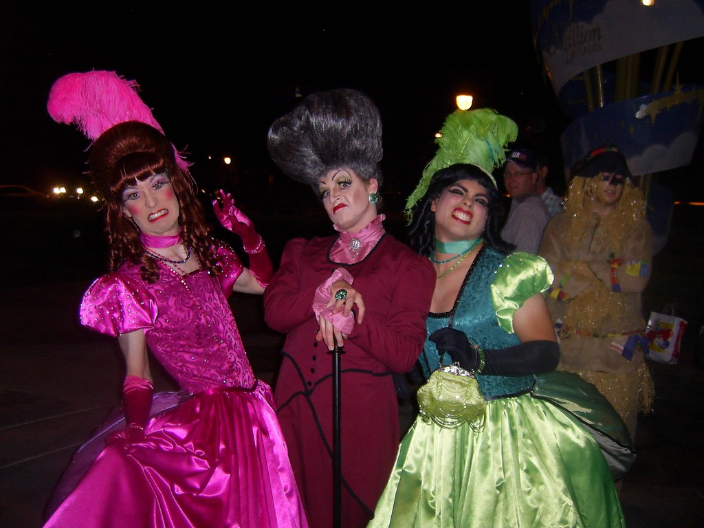 ... rubbermatt2000 Cinderellau0027s Stepsisters u0026 Stepmother drag queens | by rubbermatt2000  sc 1 st  Flickr & Cinderellau0027s Stepsisters u0026 Stepmother drag queens | Leaving u2026 | Flickr