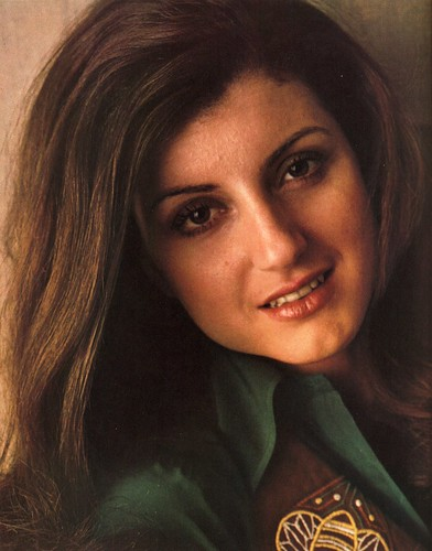 Arianna Huffington, age 24 | by Tiny Banquet Committee